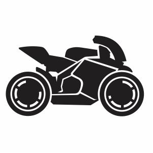 Yamaha Bike racing svg cut