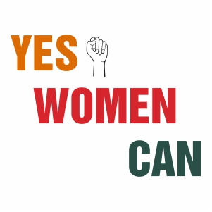 Yes Women Can Svg