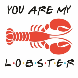 You Are My LobsterClipart