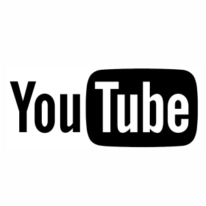 Logo of You Tube Icon vector
