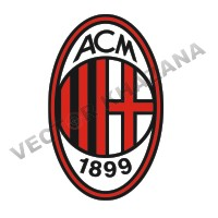 A.C Milan Logo Vector