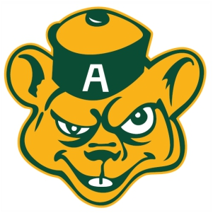 Alberta Golden Bears logo svg cut