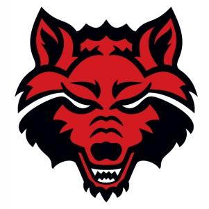Arkansas State Red Wolves vector file