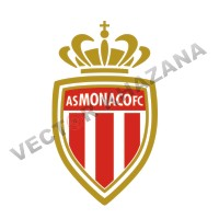 AS Monaco Logo Vector
