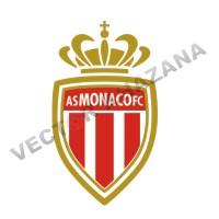 AS Monaco Logo Vector