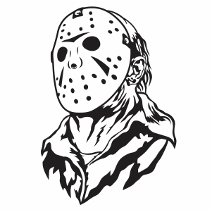 Jason Voorhees Mask Vector