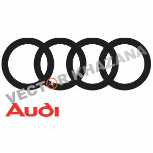 Audi Car Logo Vector Download