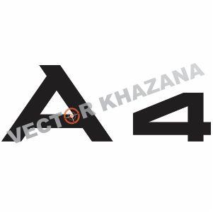 Audi A4 Logo Vector