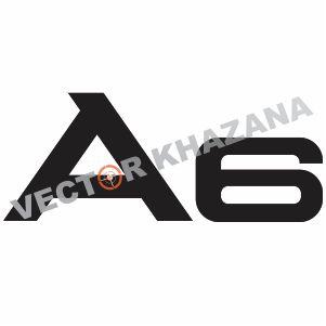 Audi A6 Logo Vector
