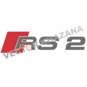 Audi RS2 Logo Vector