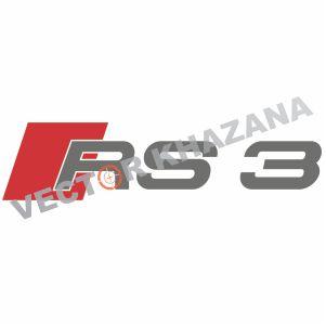 Audi RS3 Logo Vector