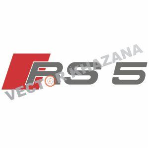 Audi RS5 Logo Vector