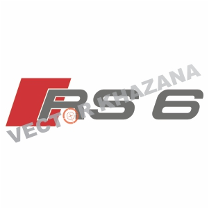Audi RS 6 Logo Svg