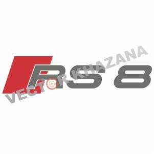 Audi RS8 Logo Vector