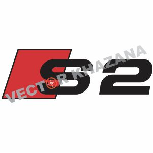 Audi S2 Logo Vector