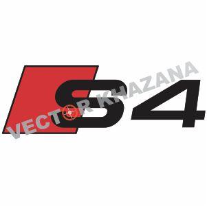 Audi S4 Logo Vector
