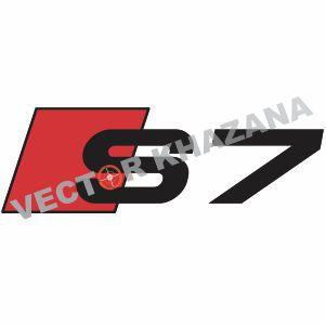 Audi S7 Logo Vector