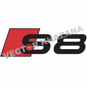 Audi S8 Logo Vector