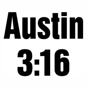 Austin 3:16 Logo Vector