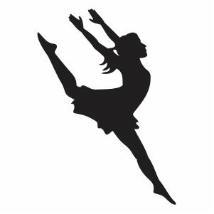 Ballerina Ballet Dancer Silhouette