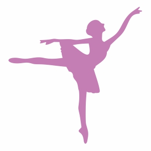Ballet Dancer Pose Vector