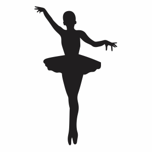 Ballerina Girl Dancer Vector