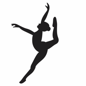 Ballerina Dancer Svg
