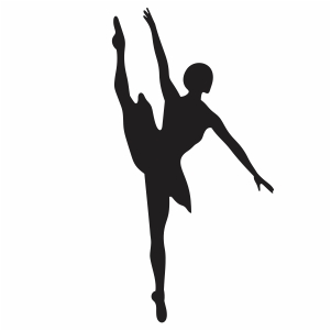 Ballet Dancer Svg