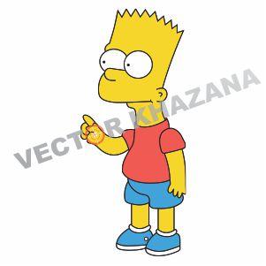 Bart Simpson Vector Logo