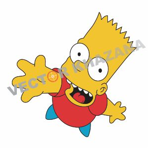Bart Simpson Vector Logo