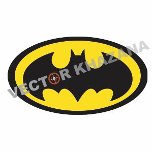 Batman Logo Symbol Vector