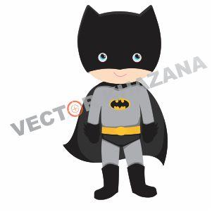 Chibi Batman Vector