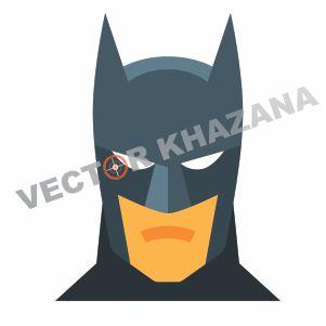Batman Head  Vector