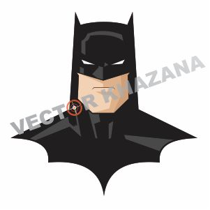 Batman Face Vector