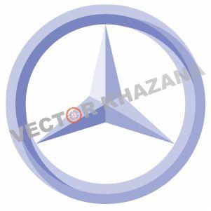 Mercedes Benz Icon Logo Vector