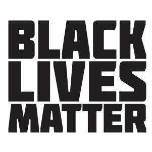 Black Lives Matter Silhouette