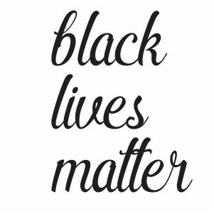 Black Lives Matter Logo vector