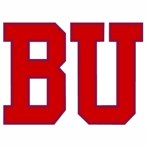 Boston University Terriers Hockey BU logo vector