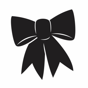 Black Bow Silhouette