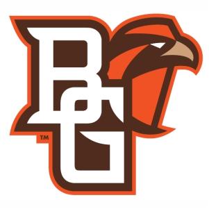 Bowling green falcons logo vector image