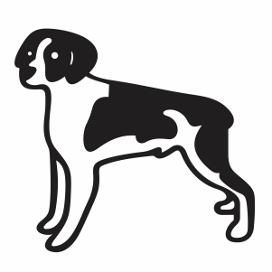 Brittany Dog Svg