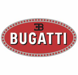 Vector Bugatti Car Logo