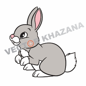 Bunny Rabbit Logo Vector Download