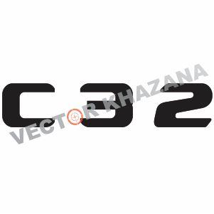 Mercedes C 32 Logo Vector
