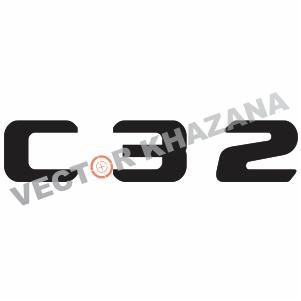 Mercedes C 32 Logo Svg