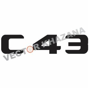 Mercedes C 43 Logo Svg