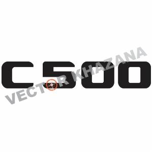 Mercedes C 500 Logo Svg