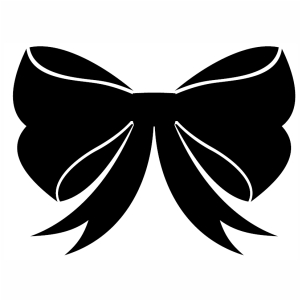 Christmas Bow svg cut file