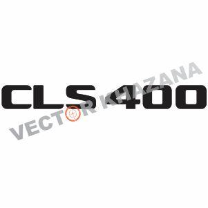 Mercedes CLS400 Logo Vector