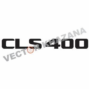 Mercedes CLS 400 Logo Svg